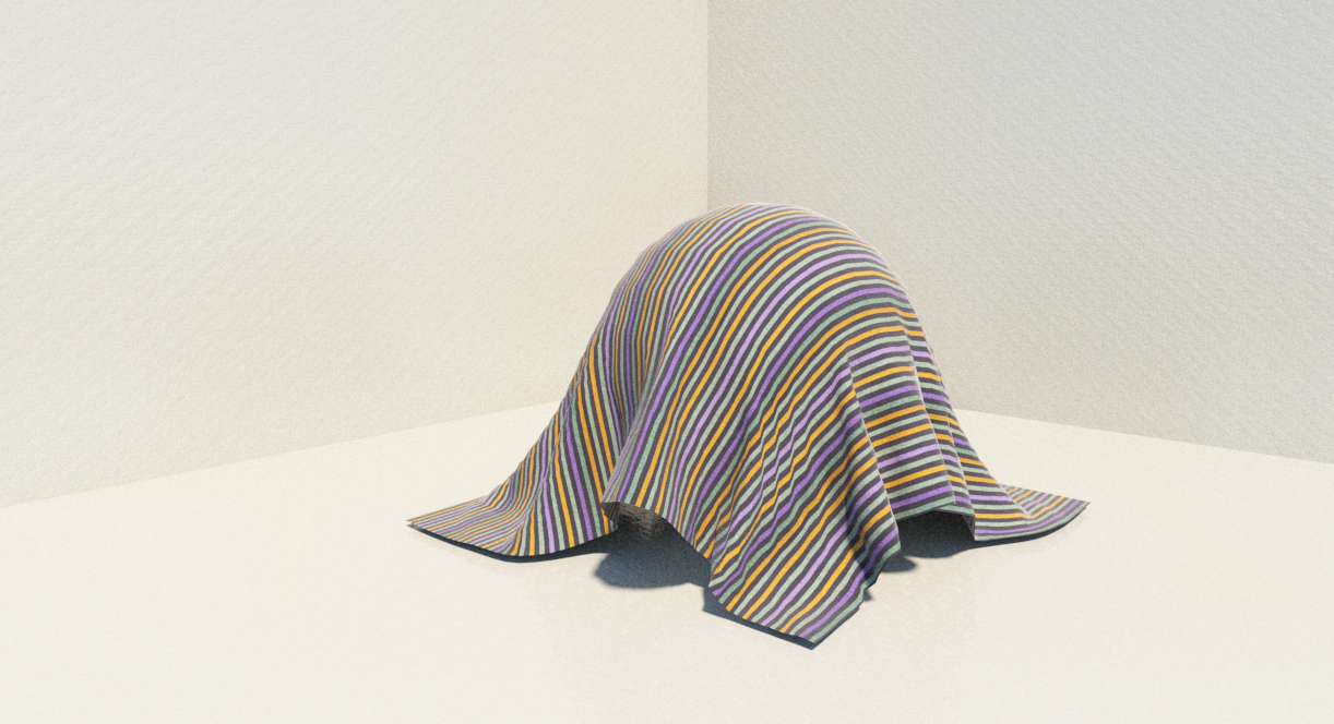 render tkanina SketchUp Clothworks